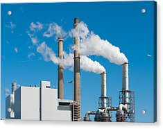 Acrylic Print featuring the photograph Power Plant by Hans Engbers