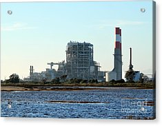 Power Station Acrylic Print by Henrik Lehnerer
