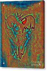 pri Acrylic Print by Jose Vasquez