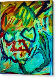 Purple People Eater Acrylic Print by Bill Davis