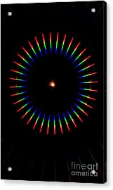 Quicklime Spectra Limelight Acrylic Print by Ted Kinsman