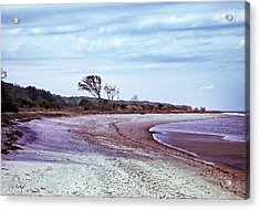 Quiet Cove  Acrylic Print by Phill Doherty