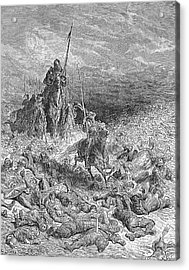 Rabelais: Gargantua Acrylic Print by Granger