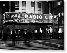 Radio City Music Hall Acrylic Print