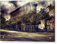 Rain Down On Me Acrylic Print by Marc Parker