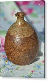 Rare John Regis Tuska Pottery Vase Acrylic Print by Kathy Clark