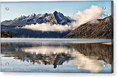 Redfish Lake Acrylic Print by Lisa Kidd