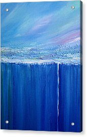 Acrylic Print featuring the painting Reflection Of Yesterday Series by Dolores  Deal