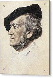 Richard Wagner (1813-1883) Acrylic Print by Granger