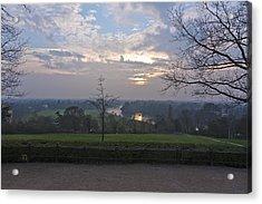 Acrylic Print featuring the photograph Richmond Sunset by Maj Seda