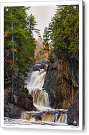 Acrylic Print featuring the photograph Roaring Falls by Richard Bean