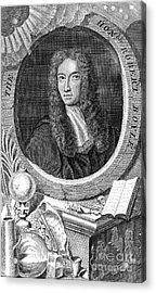 Robert Boyle, British Chemist Acrylic Print by Science Source