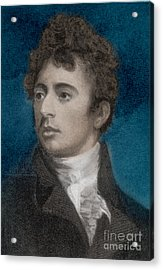 Robert Southey, English Poet Laureate Acrylic Print by Photo Researchers