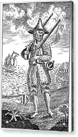 Robinson Crusoe Acrylic Print by Granger