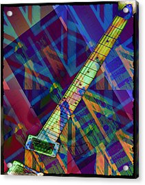 Rock And Roll Acrylic Print by Bill Cannon