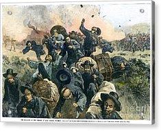 Rock Springs Massacre Acrylic Print by Granger