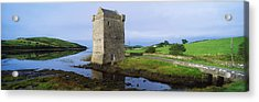 Rockfleet Castle, Clew Bay, Co Mayo Acrylic Print by The Irish Image Collection