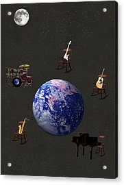 Rocking All Over  The World Acrylic Print by Eric Kempson