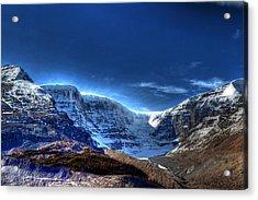 Rocky Mountains Acrylic Print by Dan S