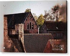 Roof Tops Acrylic Print