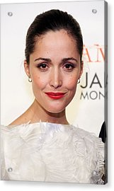 Rose Byrne At Arrivals For Damages Acrylic Print by Everett