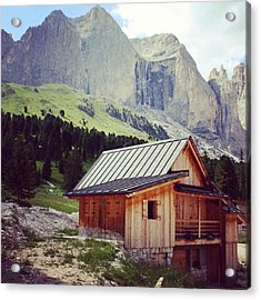 Rosengarten - Dolomites Acrylic Print