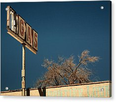 Route 66 Acrylic Print by Aurica Voss