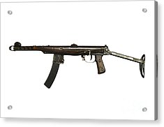 Russian Pps-43 Submachine Gun Acrylic Print by Andrew Chittock