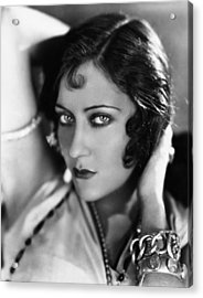 Sadie Thompson, Gloria Swanson, 1928 Acrylic Print by Everett