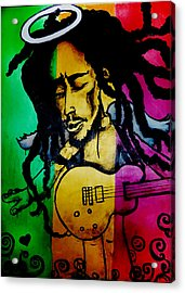 Saint Marley Acrylic Print by Asa Charles