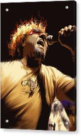 Sammy Hagar Acrylic Print by Lance  Kelly