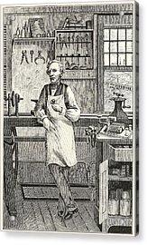 Samuel F. B. Morse 1791-1872, Inventor Acrylic Print by Everett