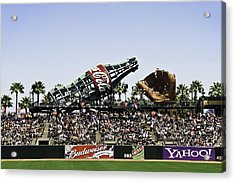 San Francisco Giants Baseball Park Acrylic Print by Paul Plaine