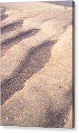 Sand Waves Acrylic Print by John Foxx