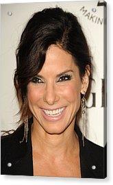Sandra Bullock Wearing Irit Design Acrylic Print
