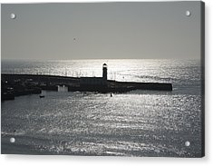 Scarborough Bay Acrylic Print by Svetlana Sewell