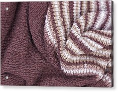 Scarf From Wool Manual Are Viscous Acrylic Print by Aleksandr Volkov