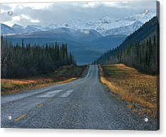 Acrylic Print featuring the photograph Scenic Highway by Scott Holmes