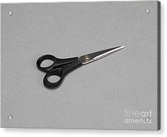 Scissors Acrylic Print by Photo Researchers