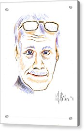 Self-portrait Acrylic Print by Kip DeVore