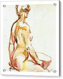 Seraphina Acrylic Print by Gerard Bimson