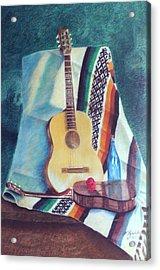 Serenata Mexicana Acrylic Print by Fernando A Hernandez