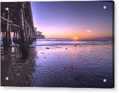 Serene Sunset Acrylic Print