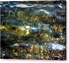Acrylic Print featuring the photograph Shallow Water by Dale   Ford