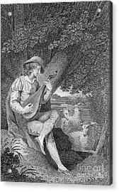Shepherd Acrylic Print by Granger