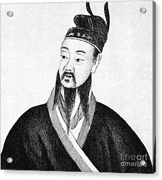 Shih Huang Ti (259-210 B.c.) Acrylic Print by Granger
