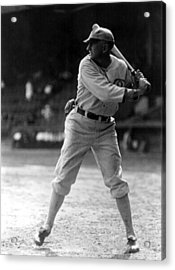 Shoeless Joe Jackson, Batting Practice Acrylic Print by Everett