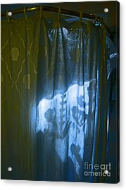 Shower Shadows Acrylic Print by Beebe  Barksdale-Bruner