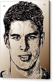Sidney Crosby In 2007 Acrylic Print by J McCombie