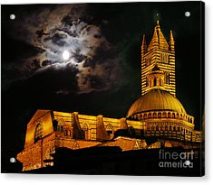 Siena Cathedral Acrylic Print by Jim Wright